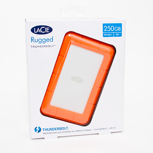 LaCie Rugged USB 3.0 Rugged Mini Hard Drive_250GB